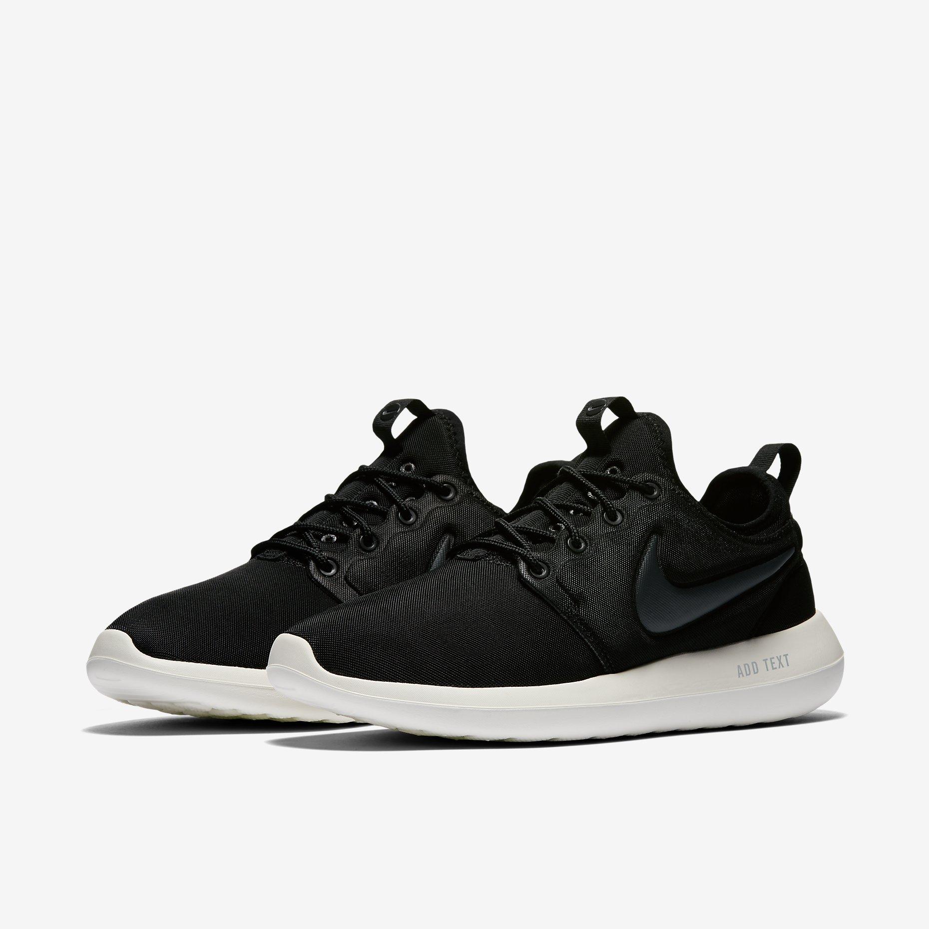Nike Roshe Two, Black $90