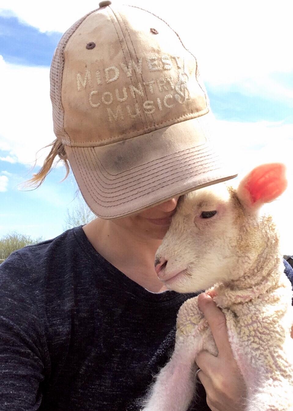 sheep - Hannah with lamb.jpg