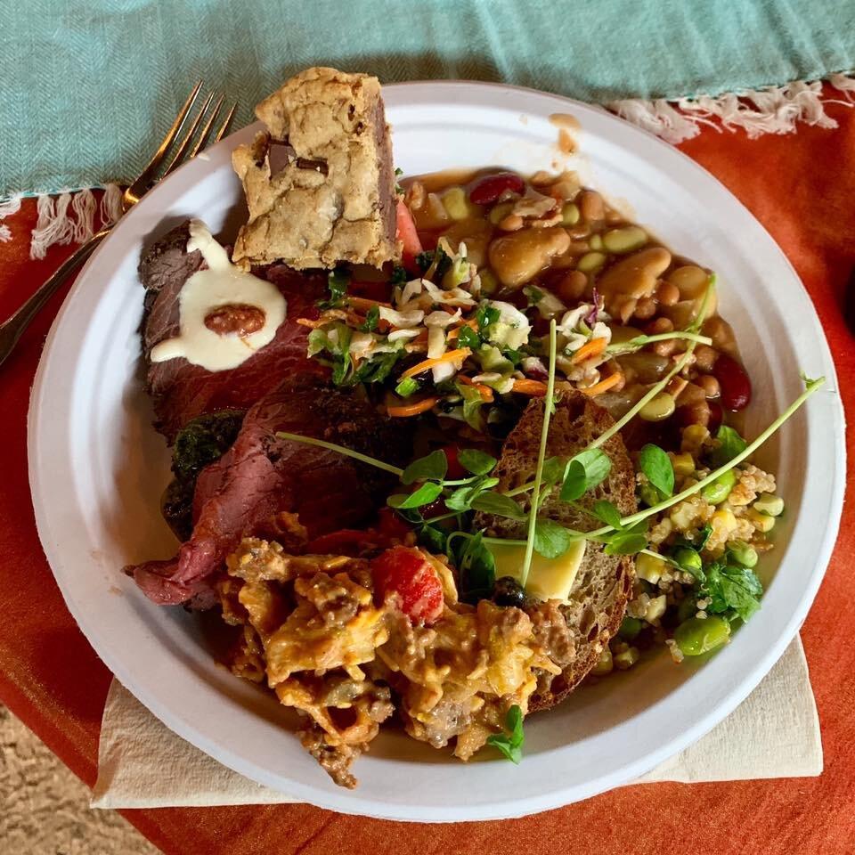 community - potluck plate of food.jpg