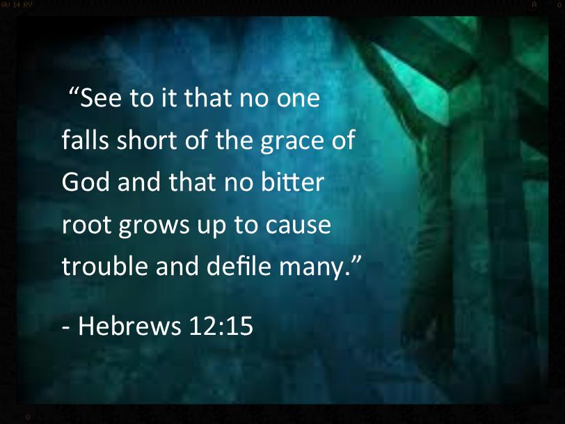 Hebrews 12:15