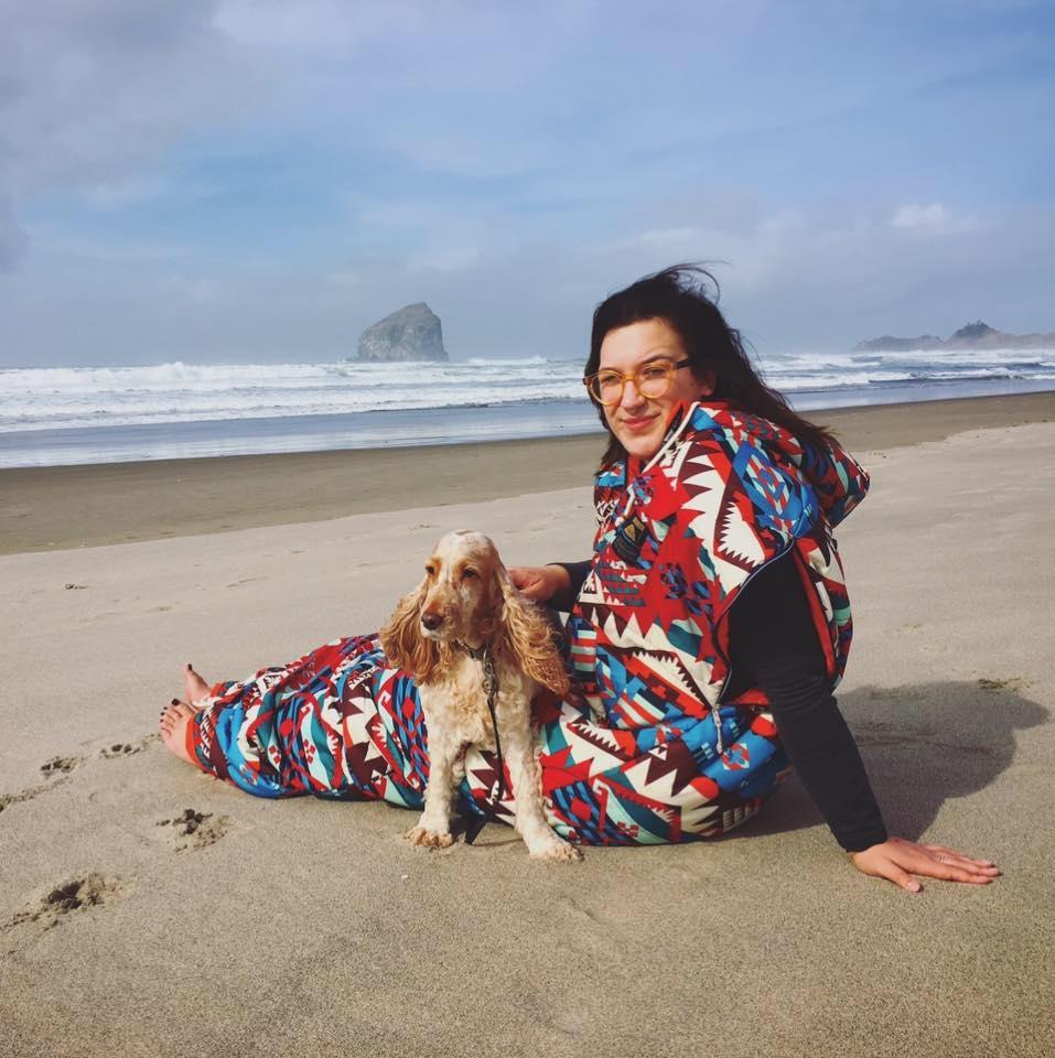 *Evelyn and her cute pup, Hope Debra*