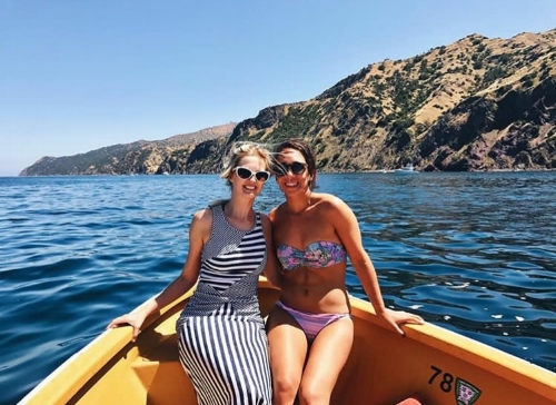 Catalina Island.  @travelnursebabes
