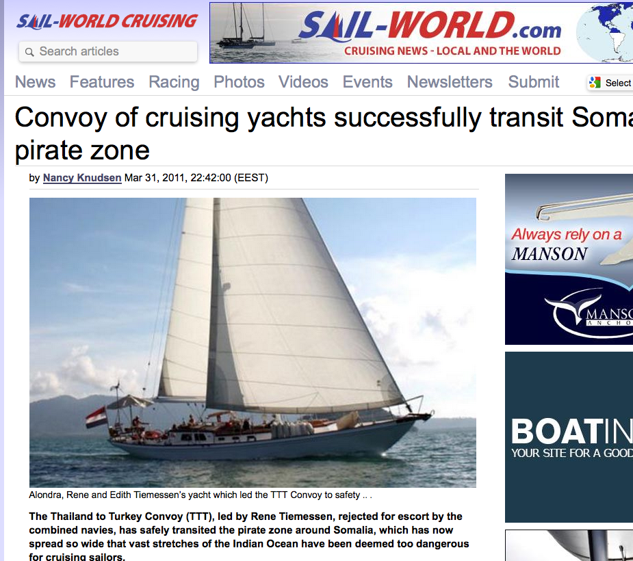Article in Sail World