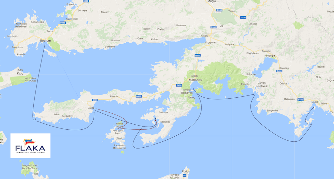 13. The Carian Road - Bodrum to Gocek vv.png