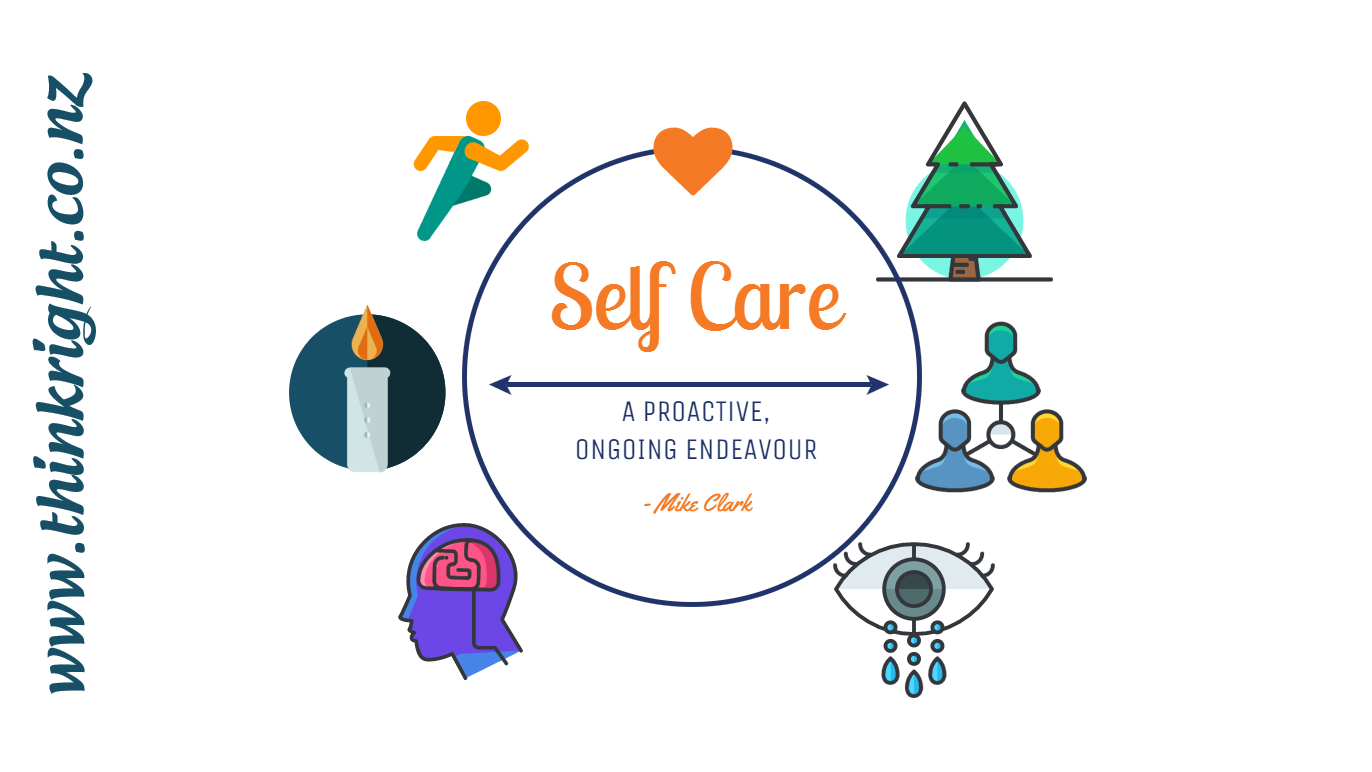 Self Care is a Proactive, Ongoing Endeavour