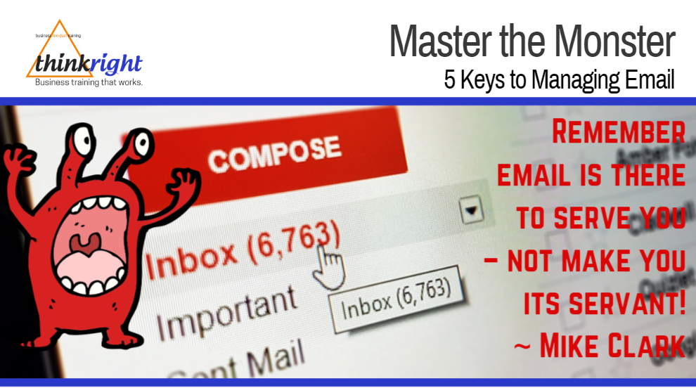 #142 Master The Monster - 5 Keys to Managing Email.PNG