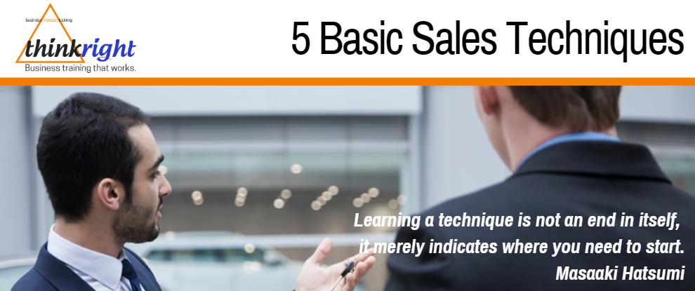 #145 5 Basic Sales Techniques.PNG