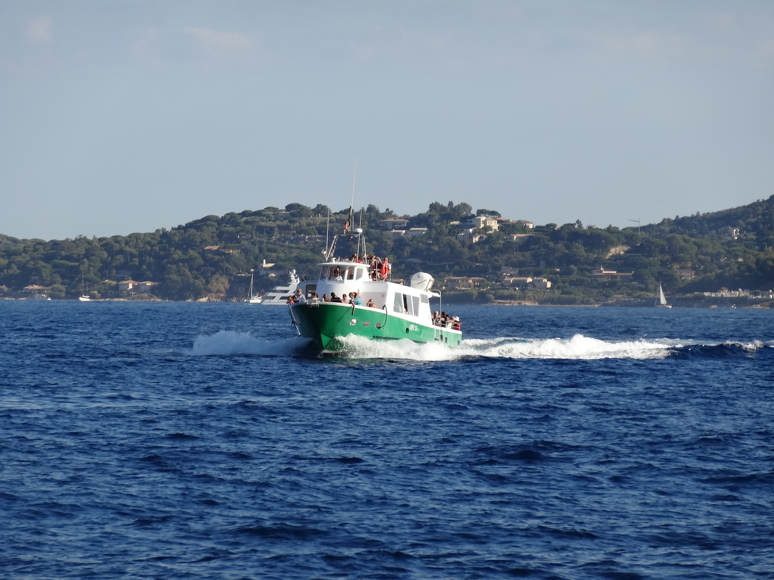 The Ste Maxime to St Tropez passenger ferry