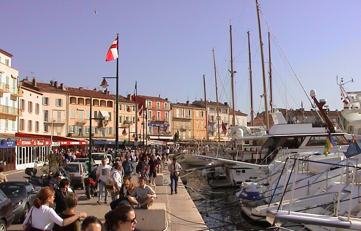 The St Tropez Harbourfront