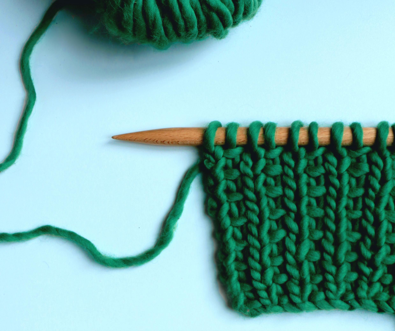 slip stitch rib