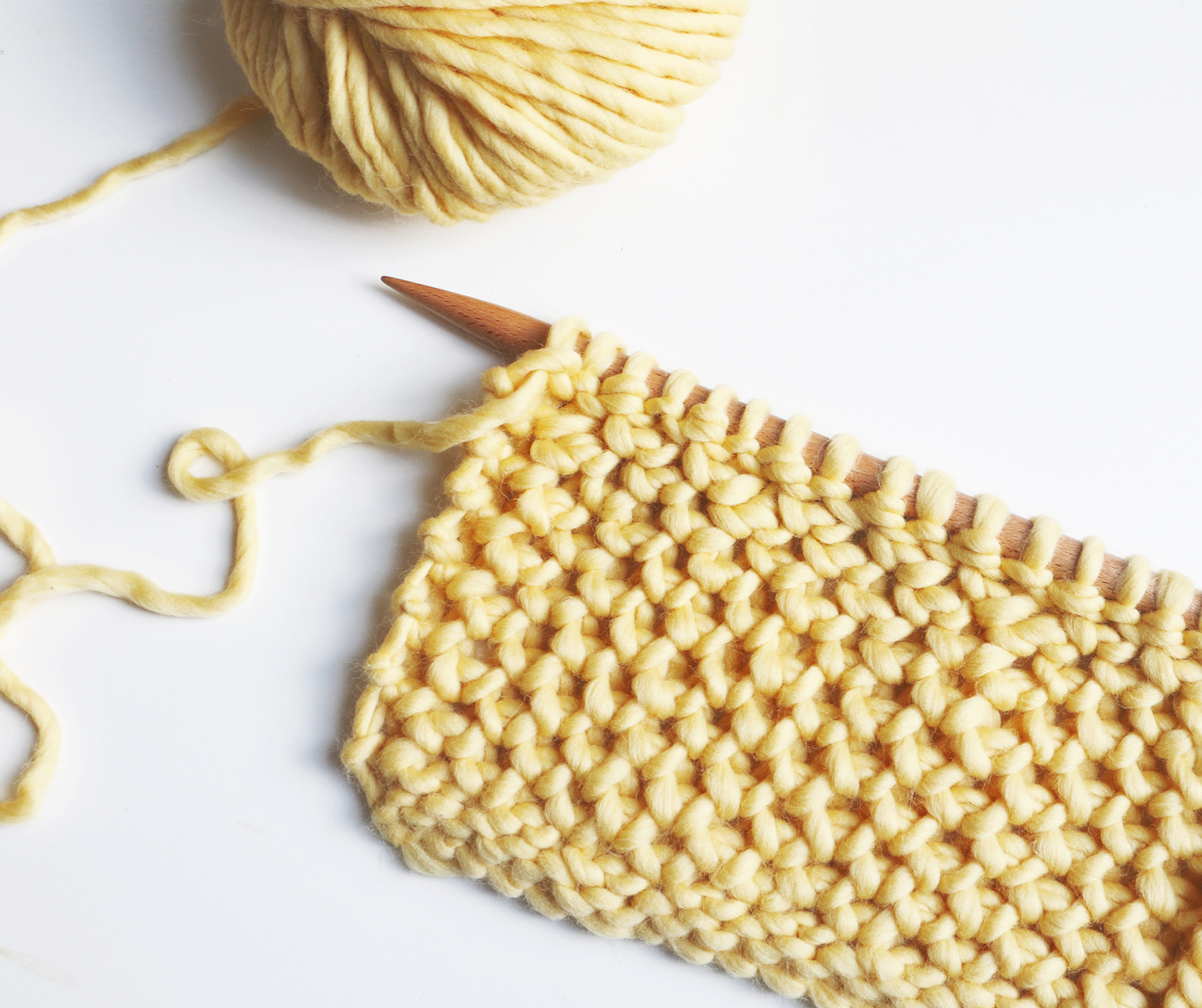 brioche honeycomb stitch