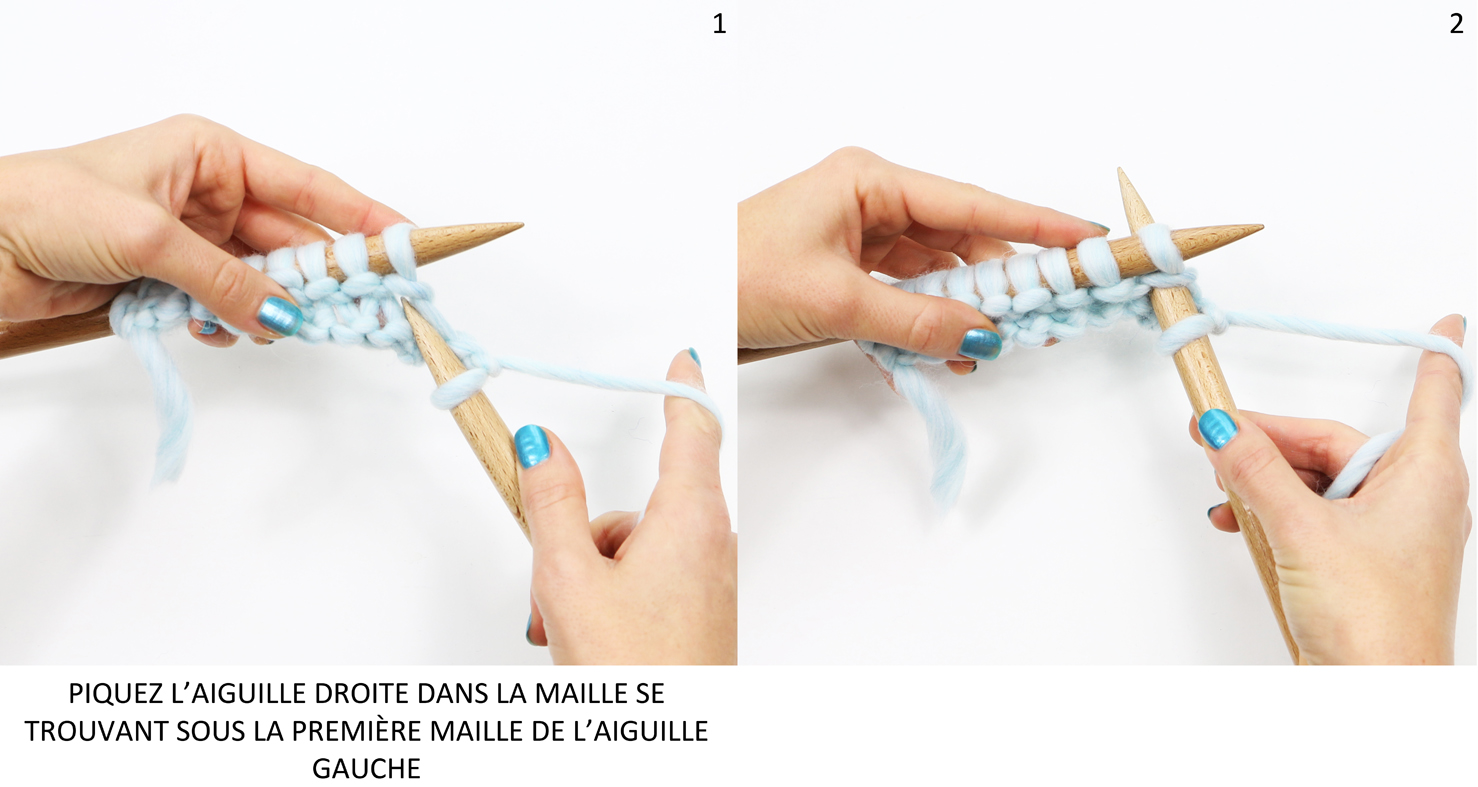 maille double endroit