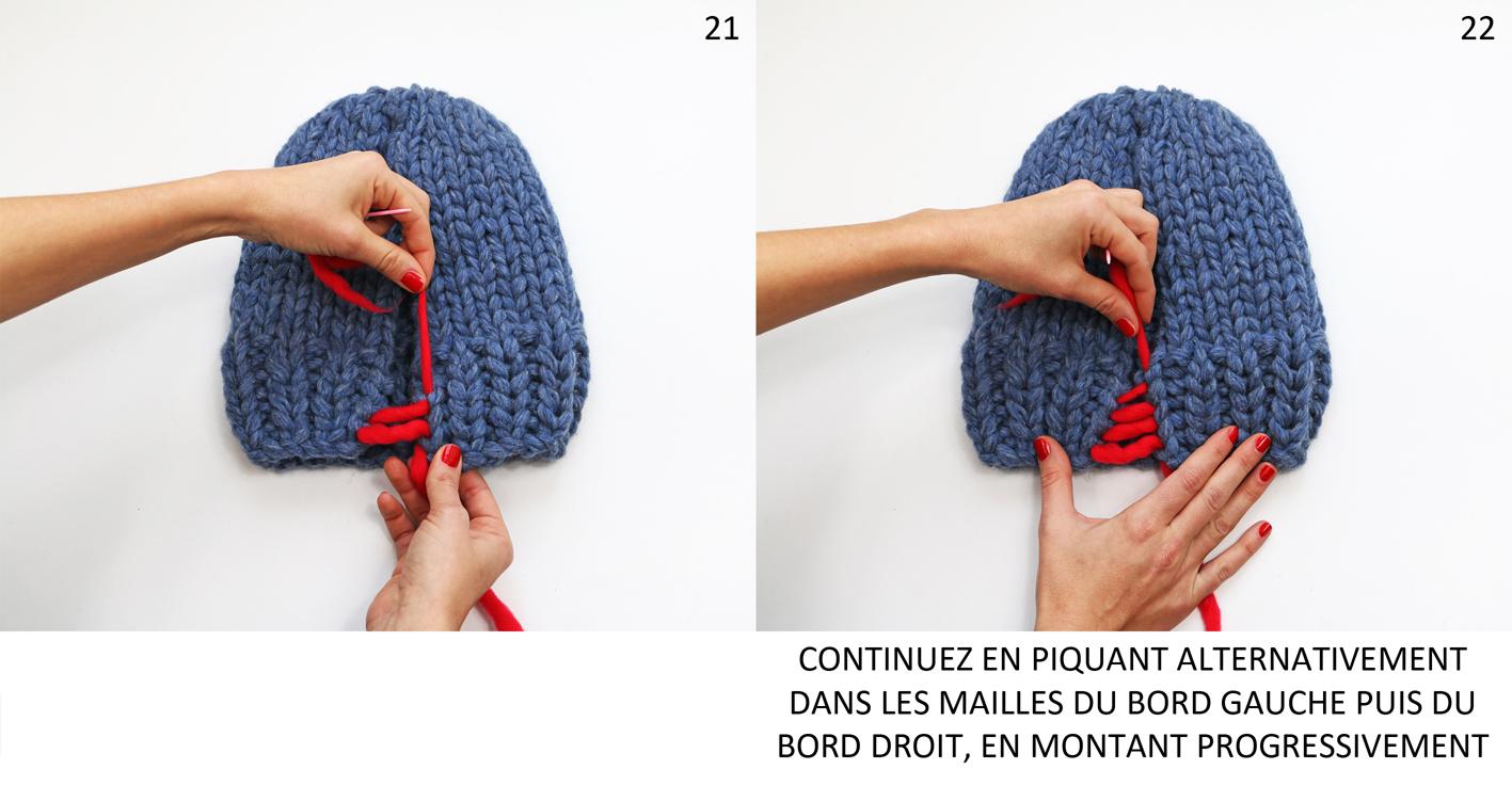 finitions bonnet
