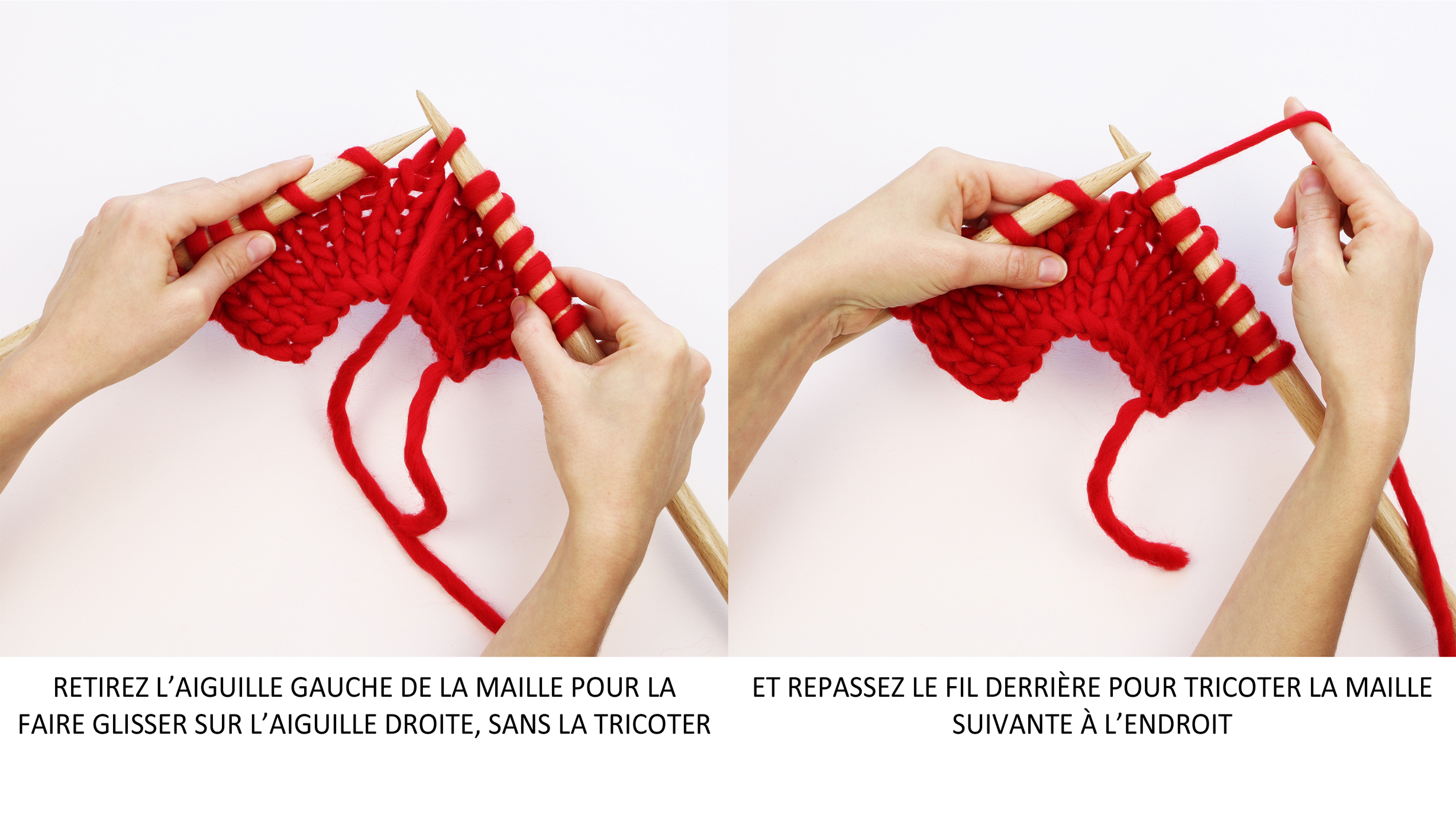 La Maille Glissée The Slip Stitch Trust The Mojo
