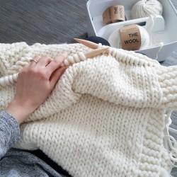 Nick Blanket Tricot Débutant The Wool