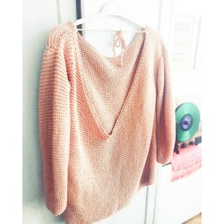Silvermonk Sweater Tricot Facile Coton Pima
