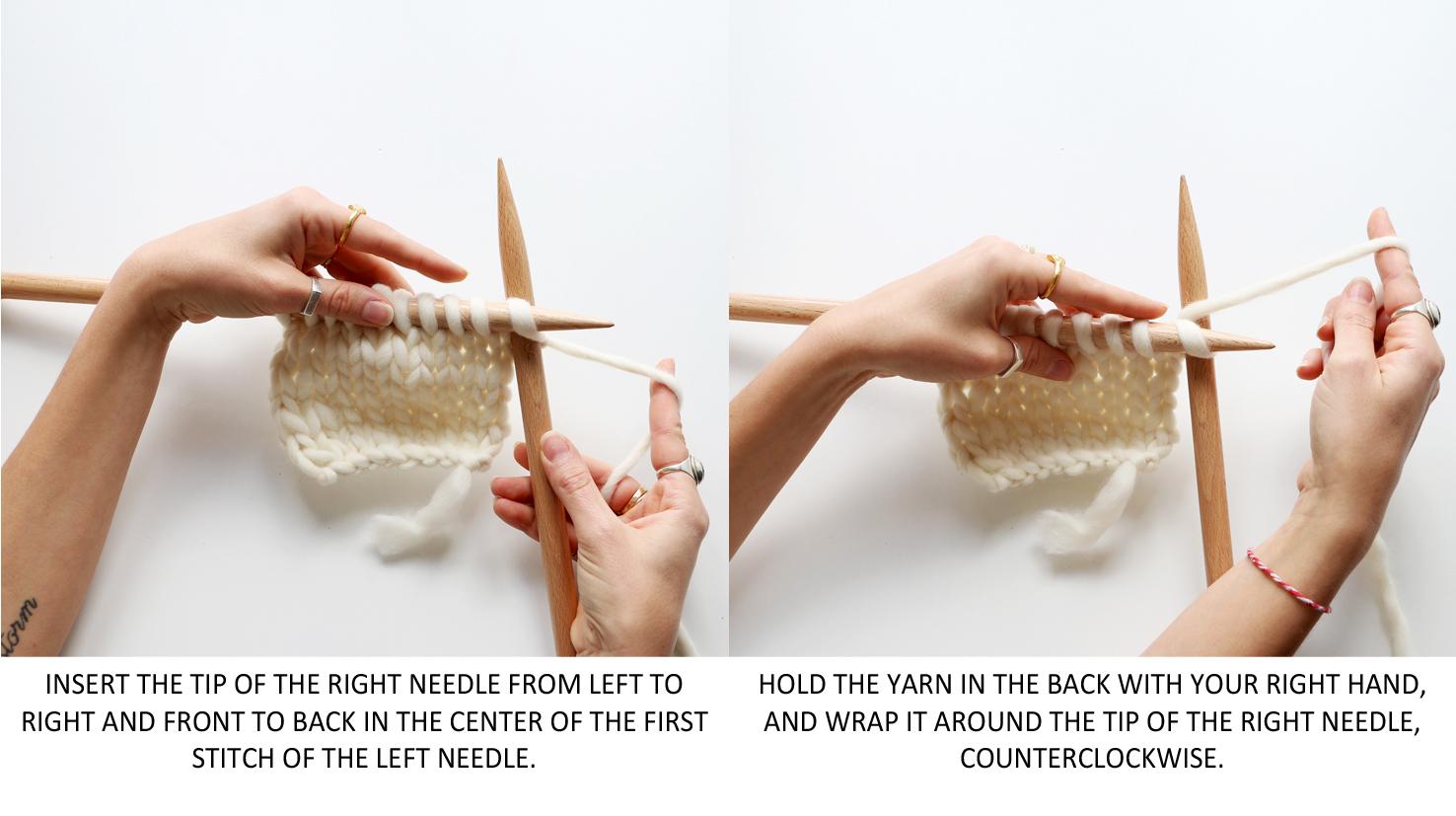increase knitting