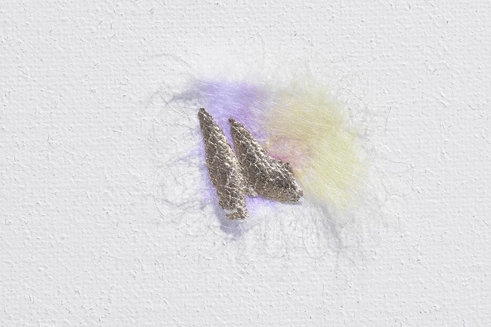 Intuition N°38, 47x200x2cm, detail