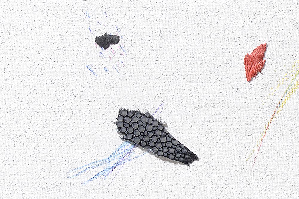 Intuition N°64, 16x27x2cm, detail