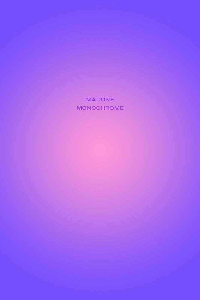 Noème Madone Monochrome, 80x120x1cm
