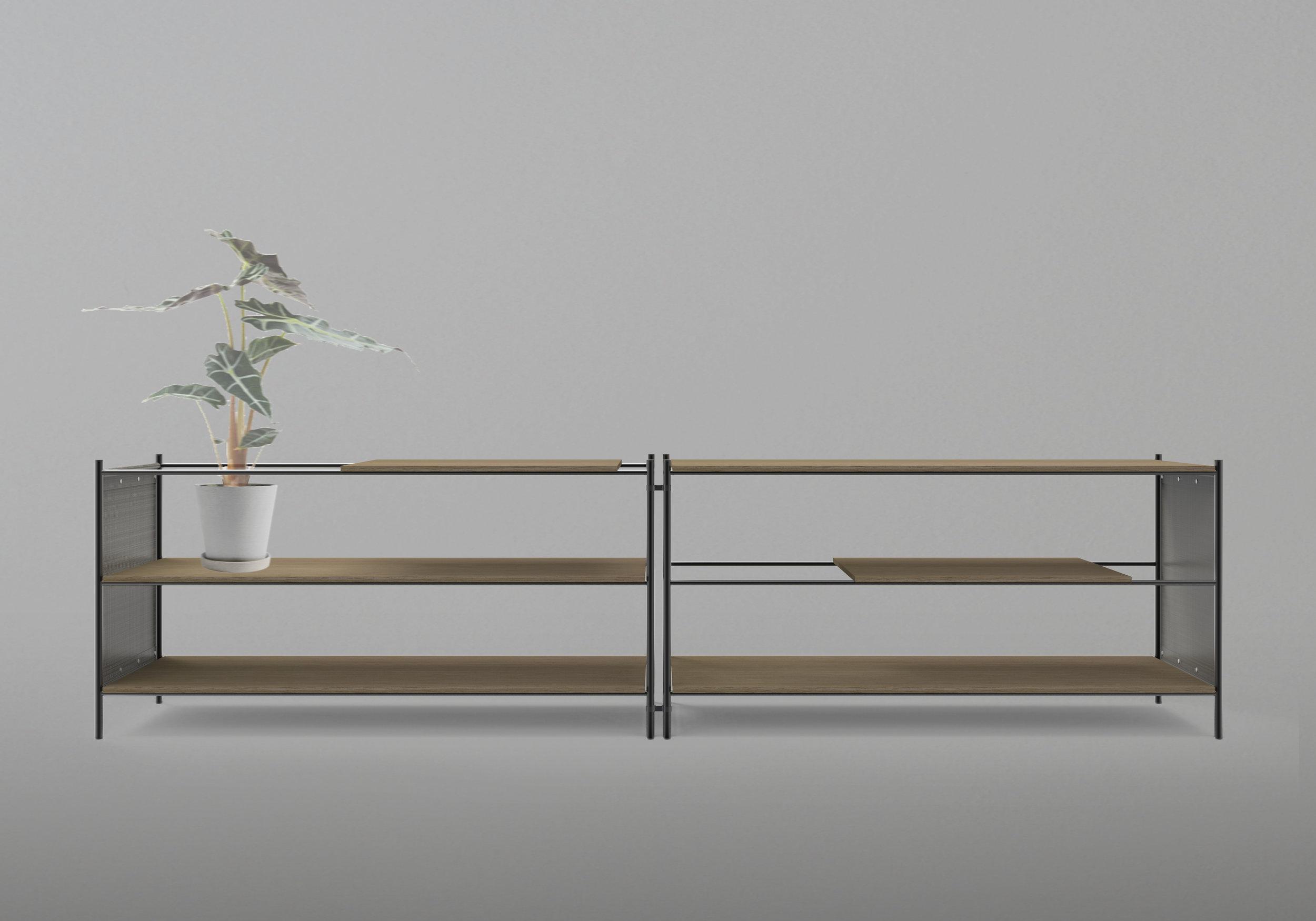 SHELVING SYSTEM   Furniture design