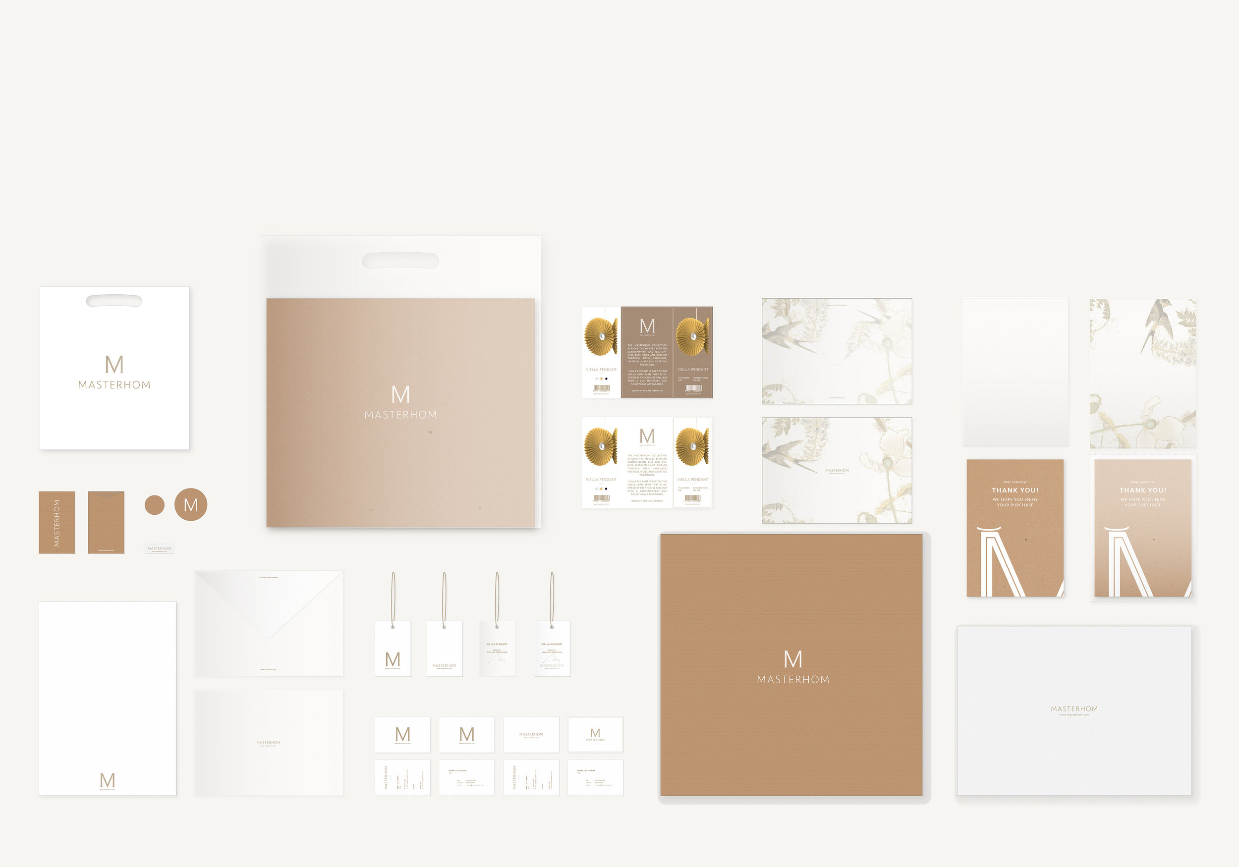 VISUAL IDENTITY + STATIONARY & PACKAGING   Art direction / Graphic design / Packaging design