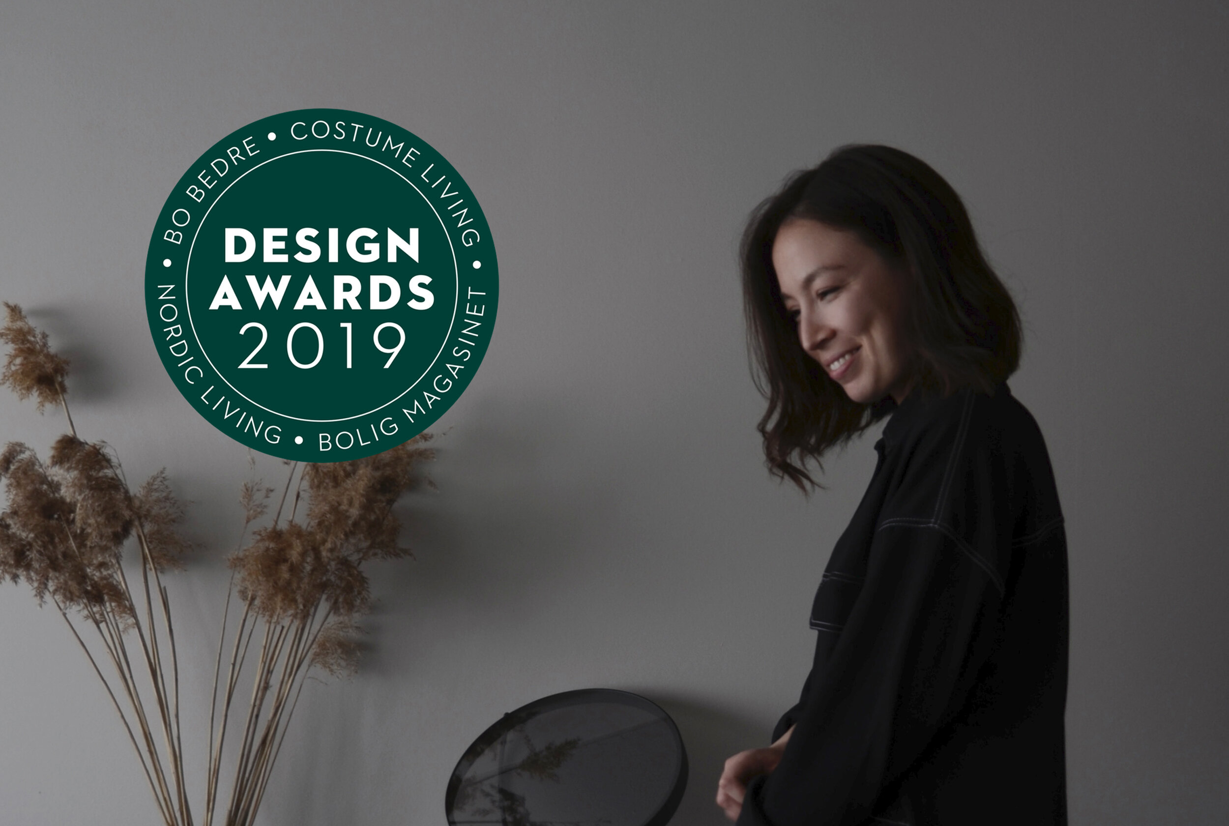 AWARDED DESIGN TALENT OF THE YEAR,   Design Awards -   September 3, 2019
