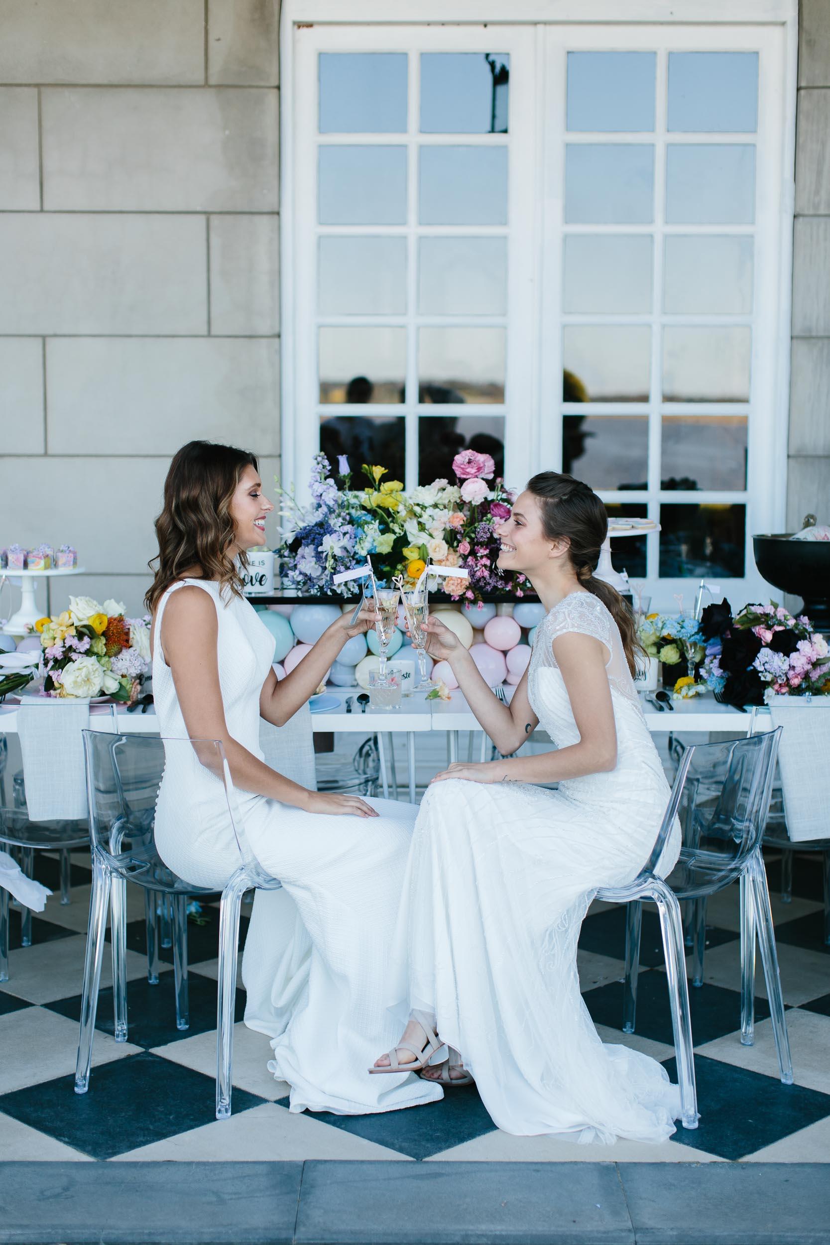 Same Sex Wedding Reception Photo | Wedding Photography by Kas Richards