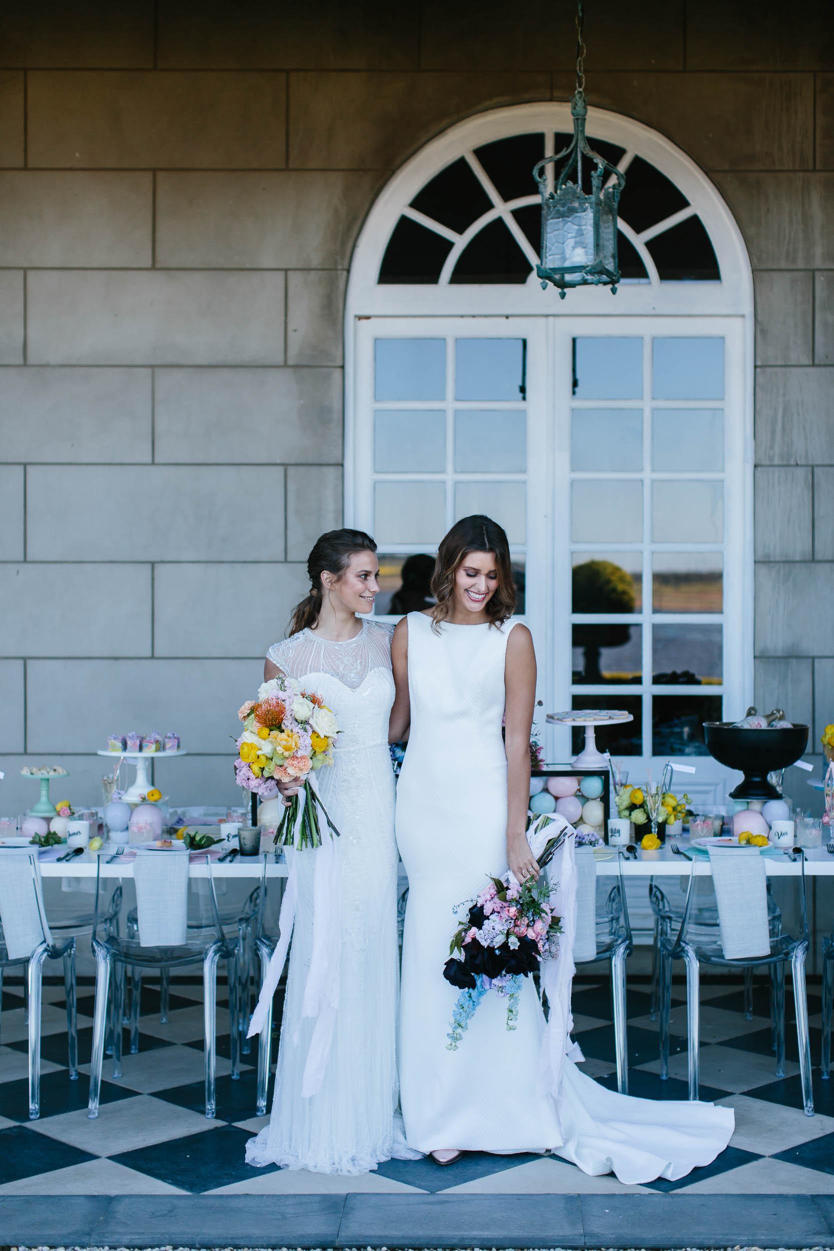 Same Sex Wedding Bridal Photos | Wedding Photography by Kas Richards