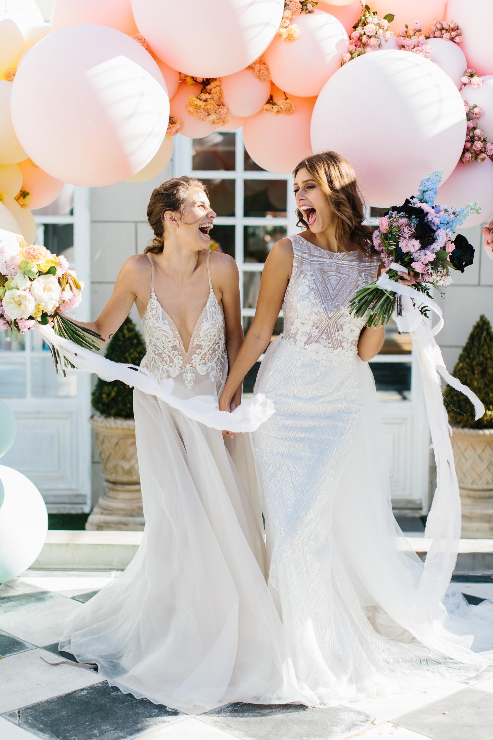 Same Sex Wedding Ceremony Photo | Wedding Photography by Kas Richards