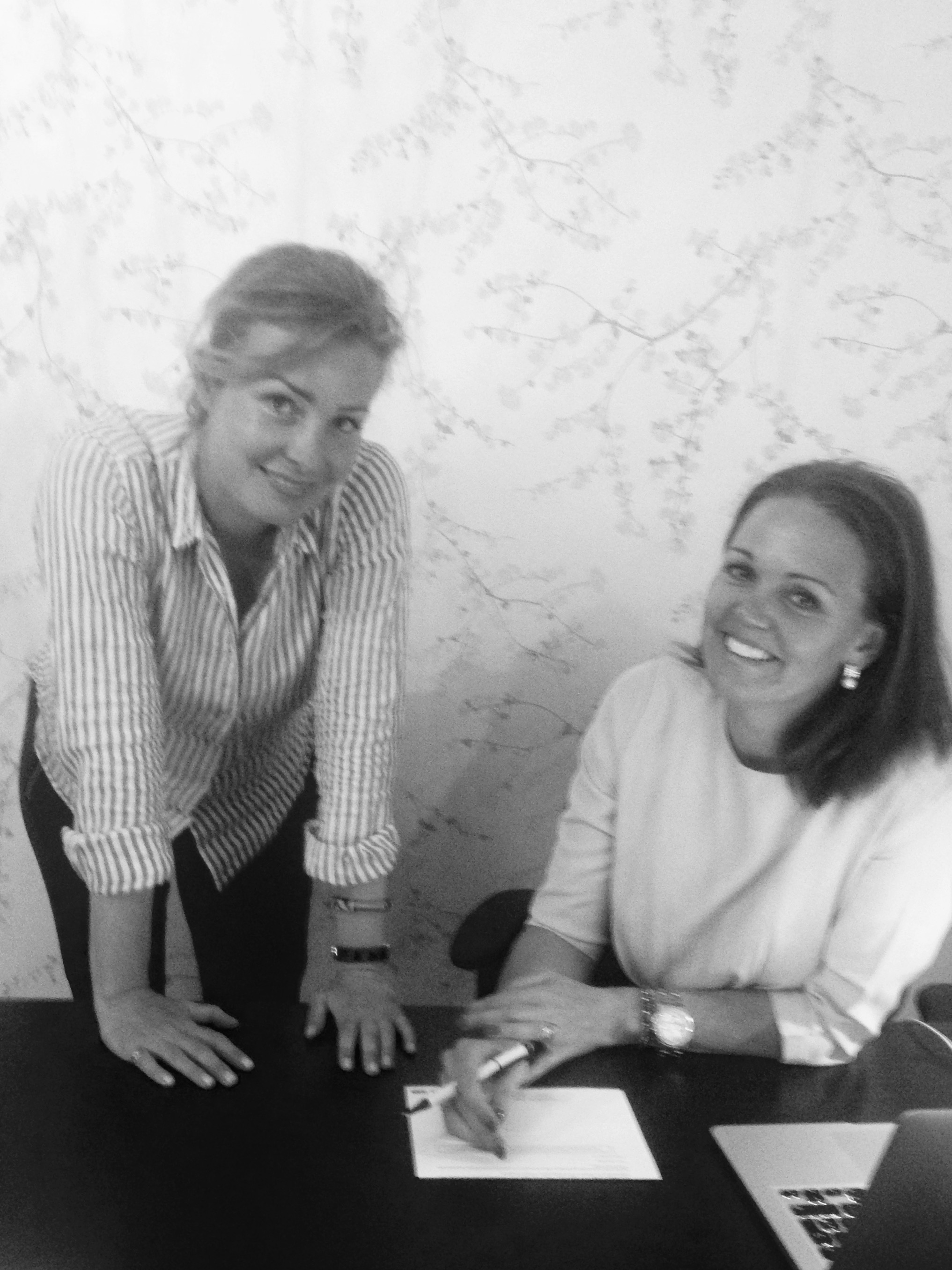 Stine Kærn Simonsen, Project Manager Classic Wedding Location & Christel Winther, CEO The Wedding Company