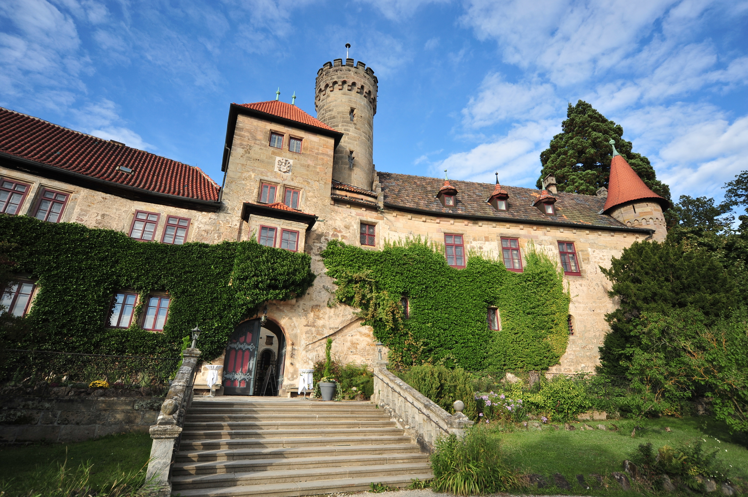 GERMANY   a Western European country with a terrain of vast forests, rivers and mountain ranges If you are looking for an impressive wedding Germany would be a perfect choice with its numerous castles and magnificent scenery.