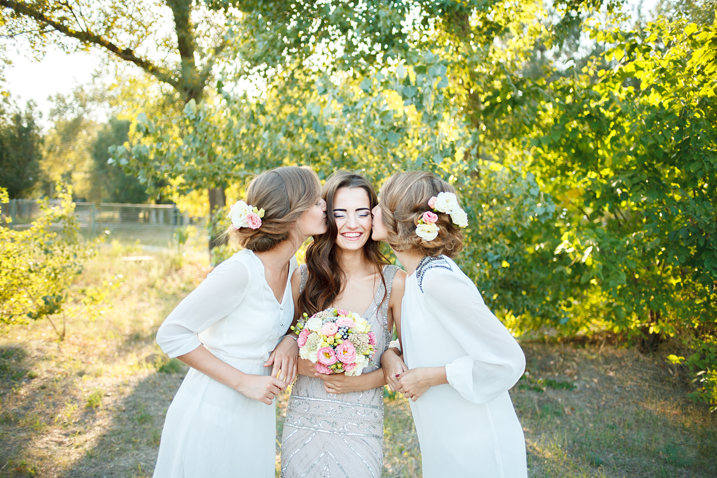 Bridesmaids' Unconditional Love