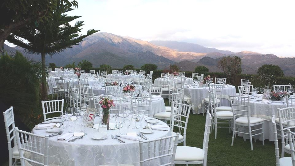 Wedding location with a view. Finca Villa Palma