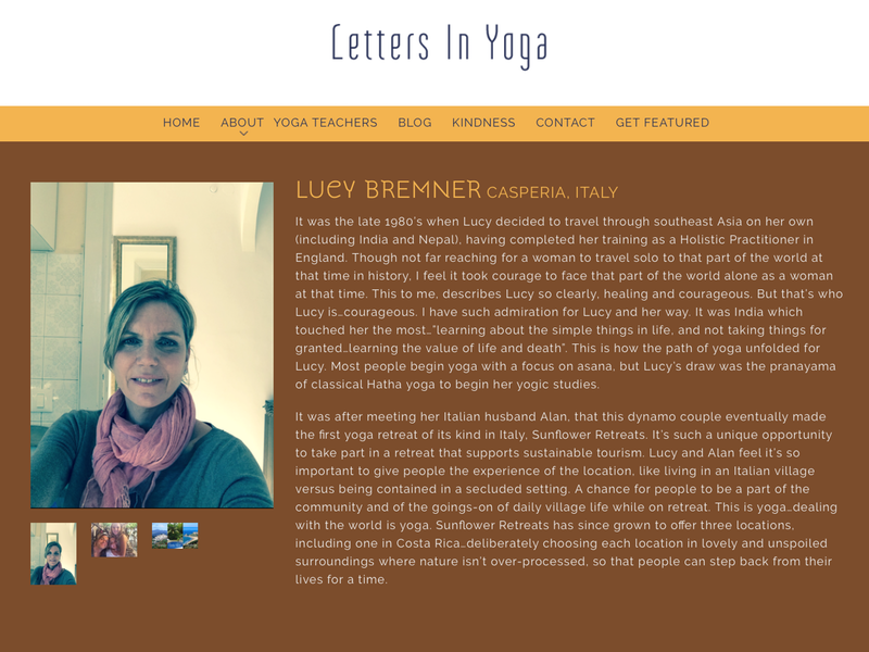 letter in yoga