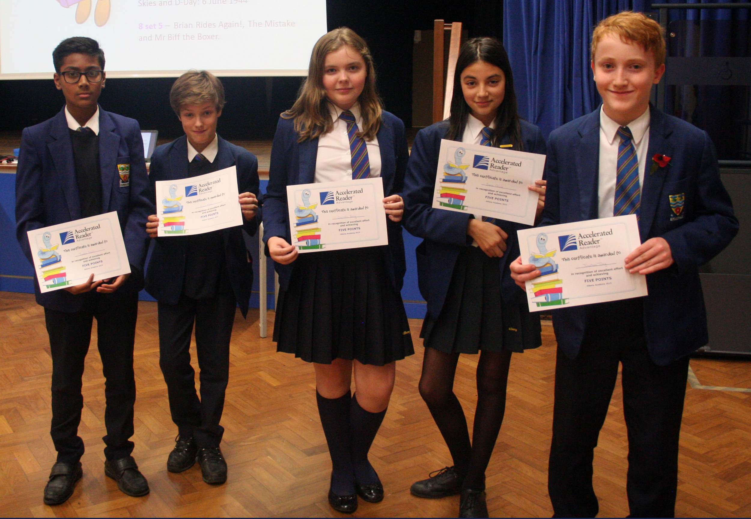 Year 8 reading assembly 002.JPG