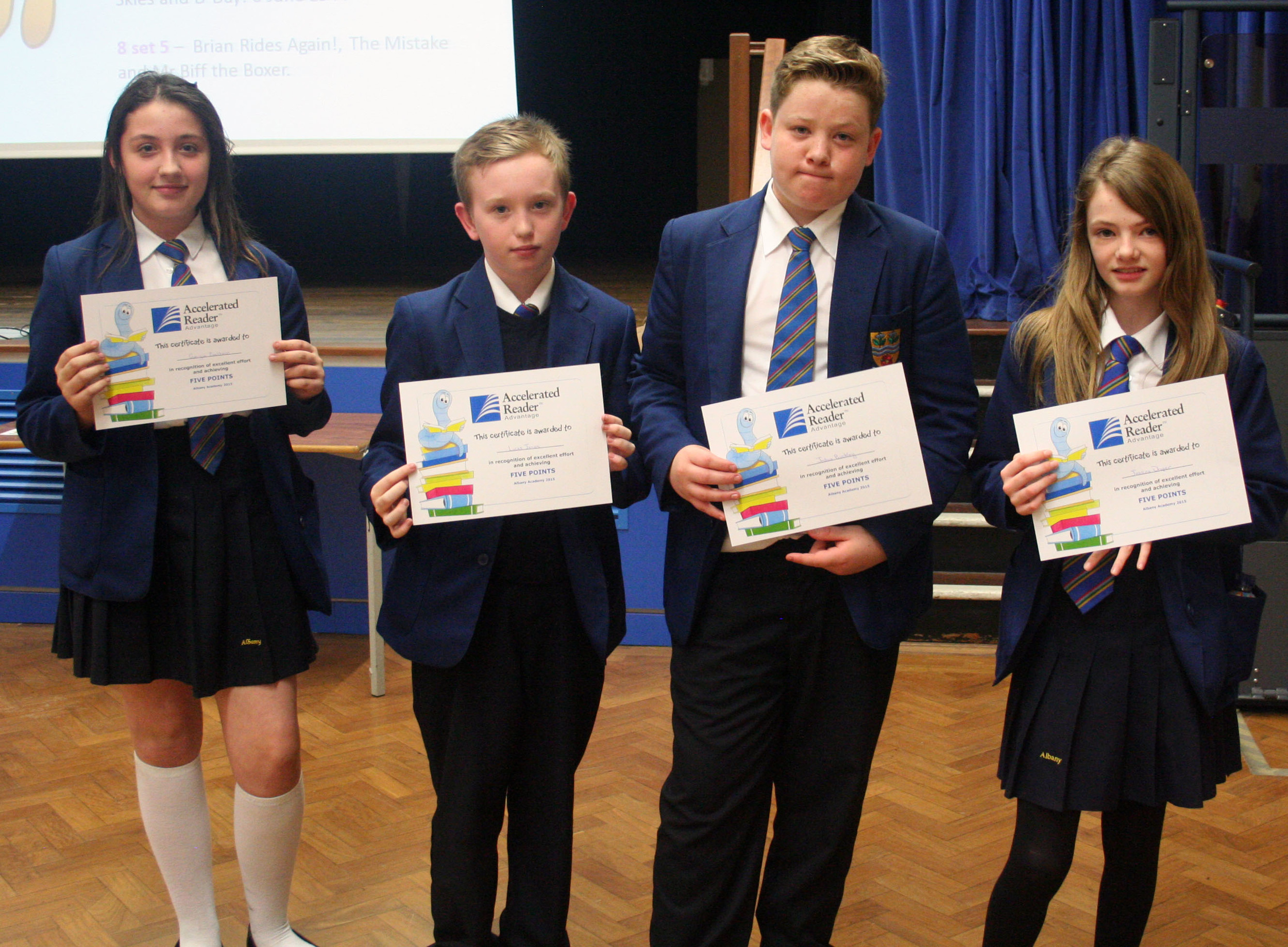 Year 8 reading assembly 004.JPG