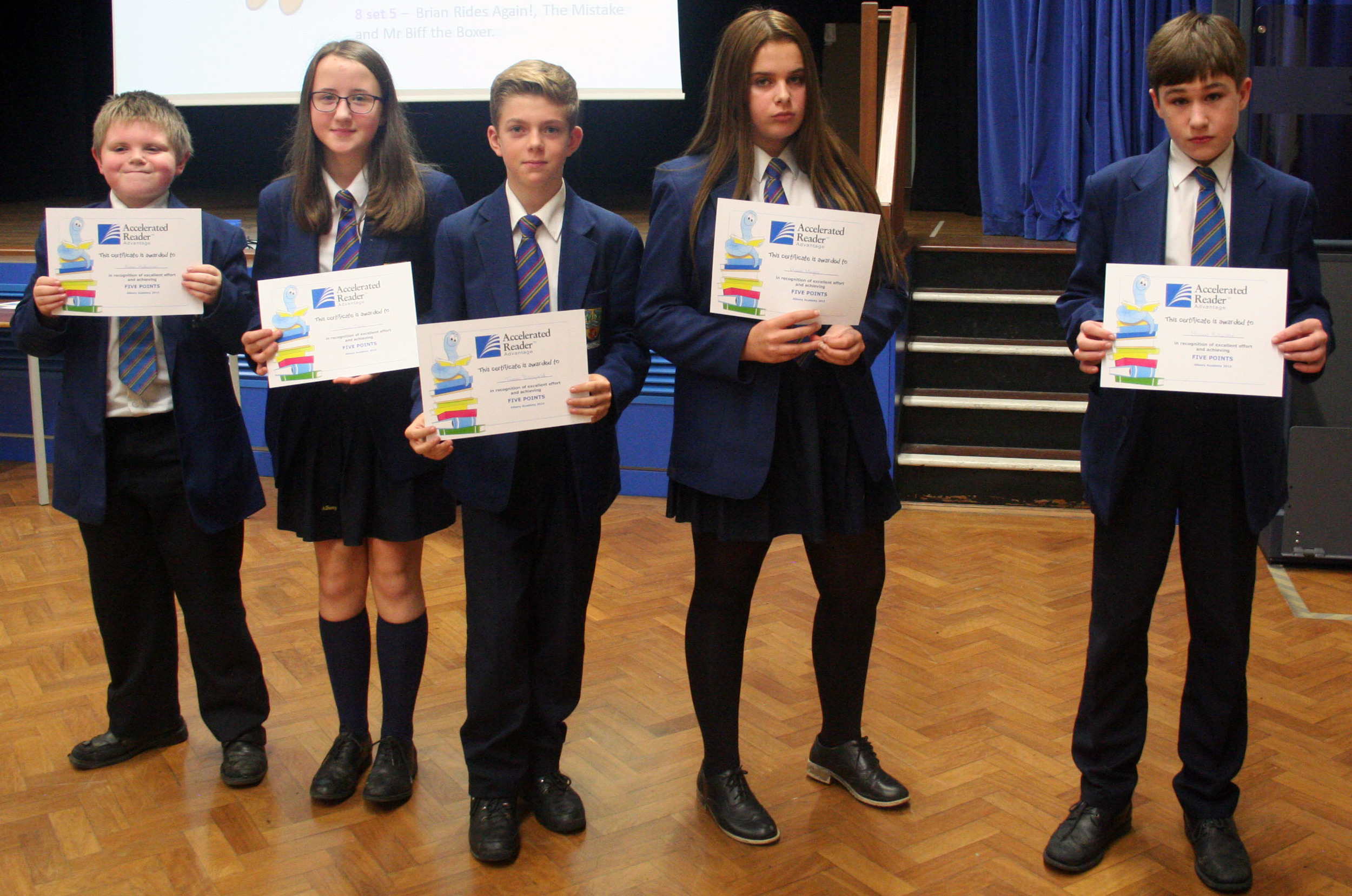 Year 8 reading assembly 005.JPG