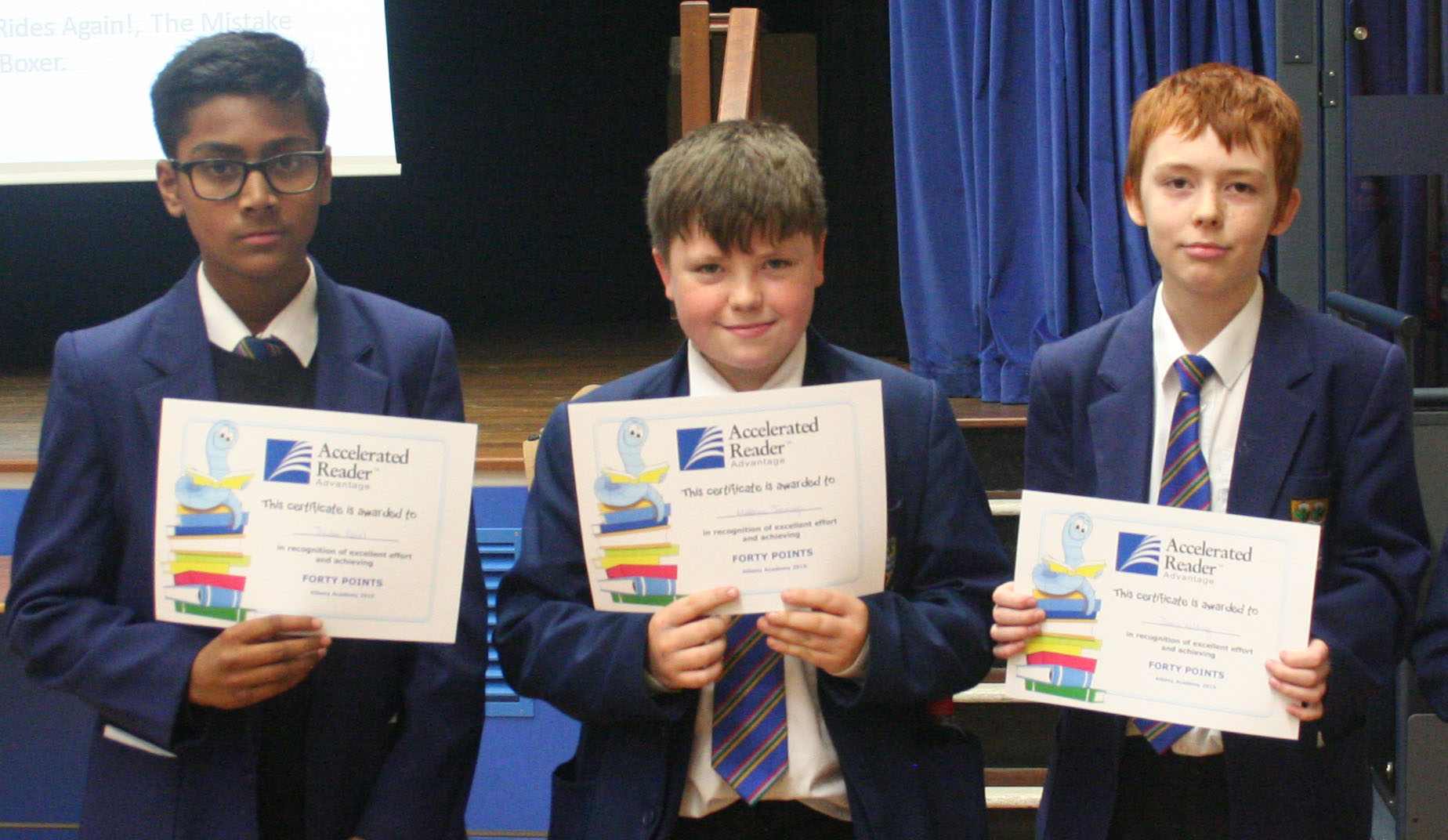Year 8 reading assembly 011.JPG