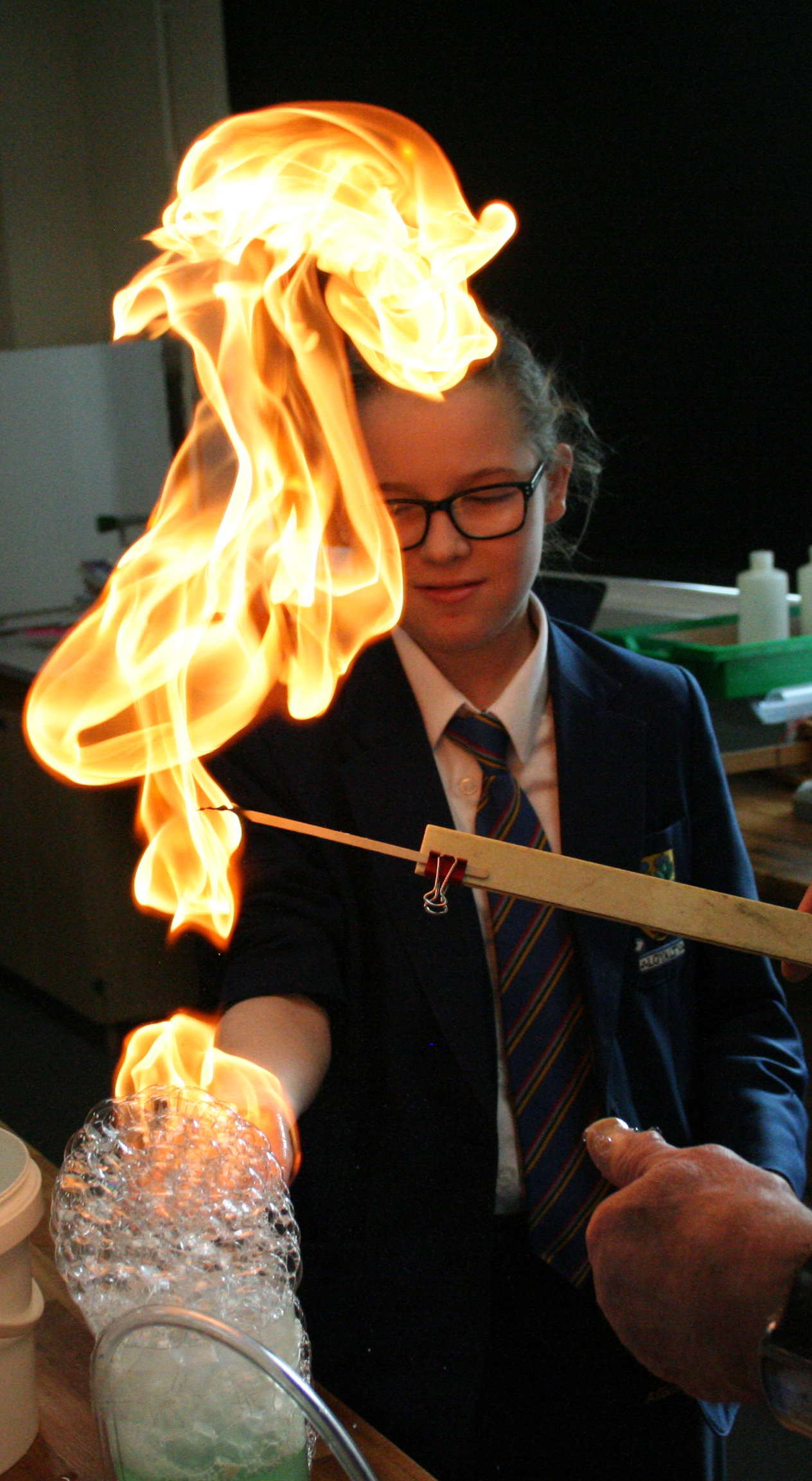 Flaming Hand Experiment 005.JPG