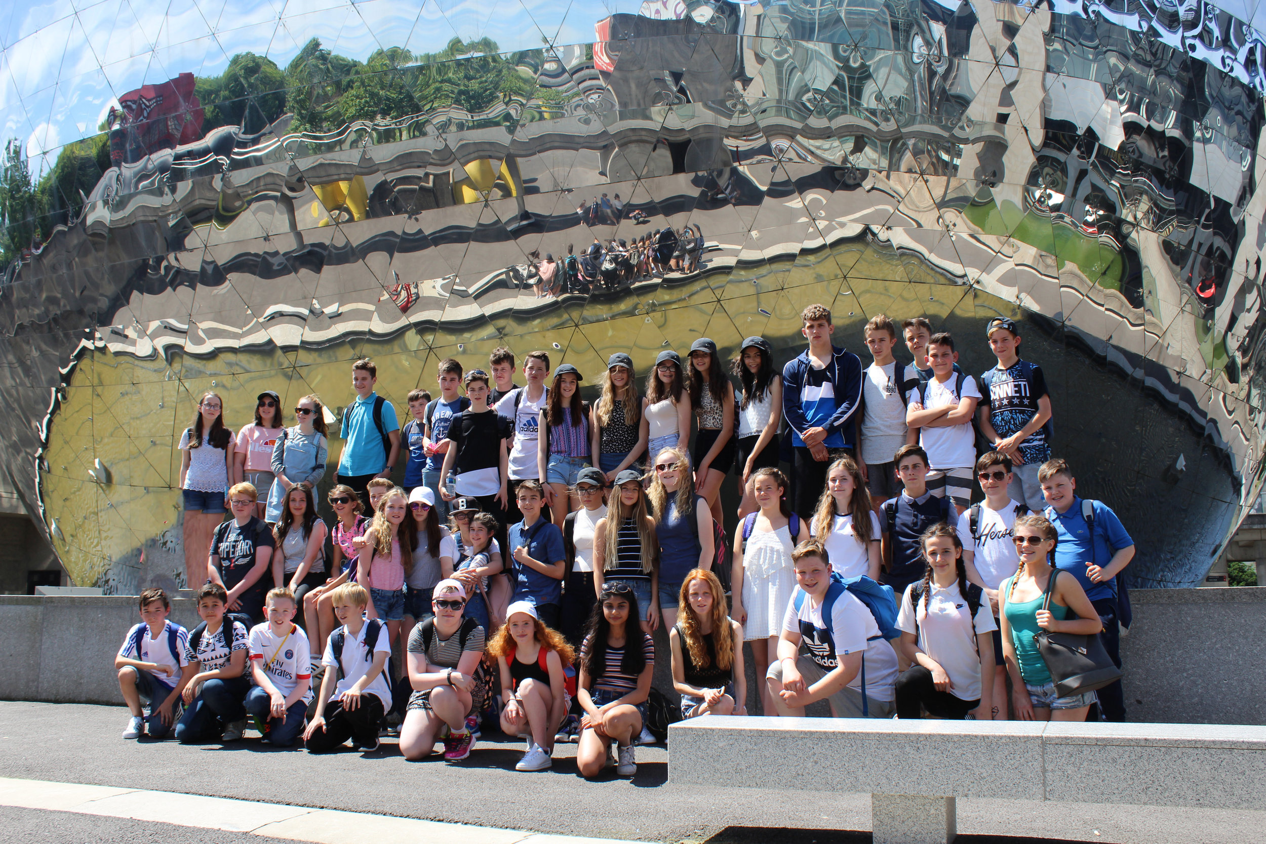 Year 8 Paris Trip 2016