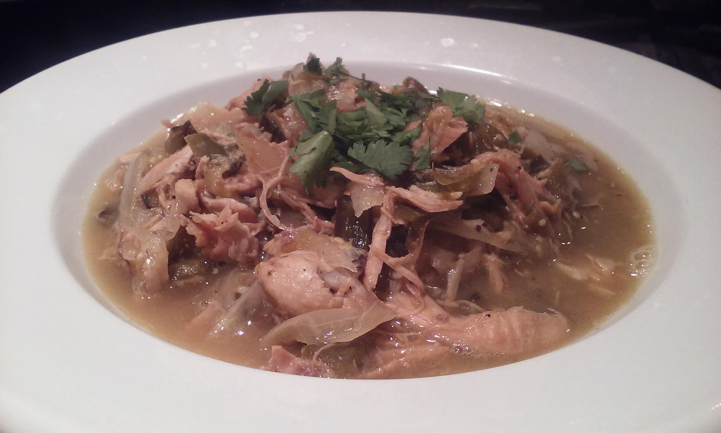 Chicken Chili Tomatillo Soup