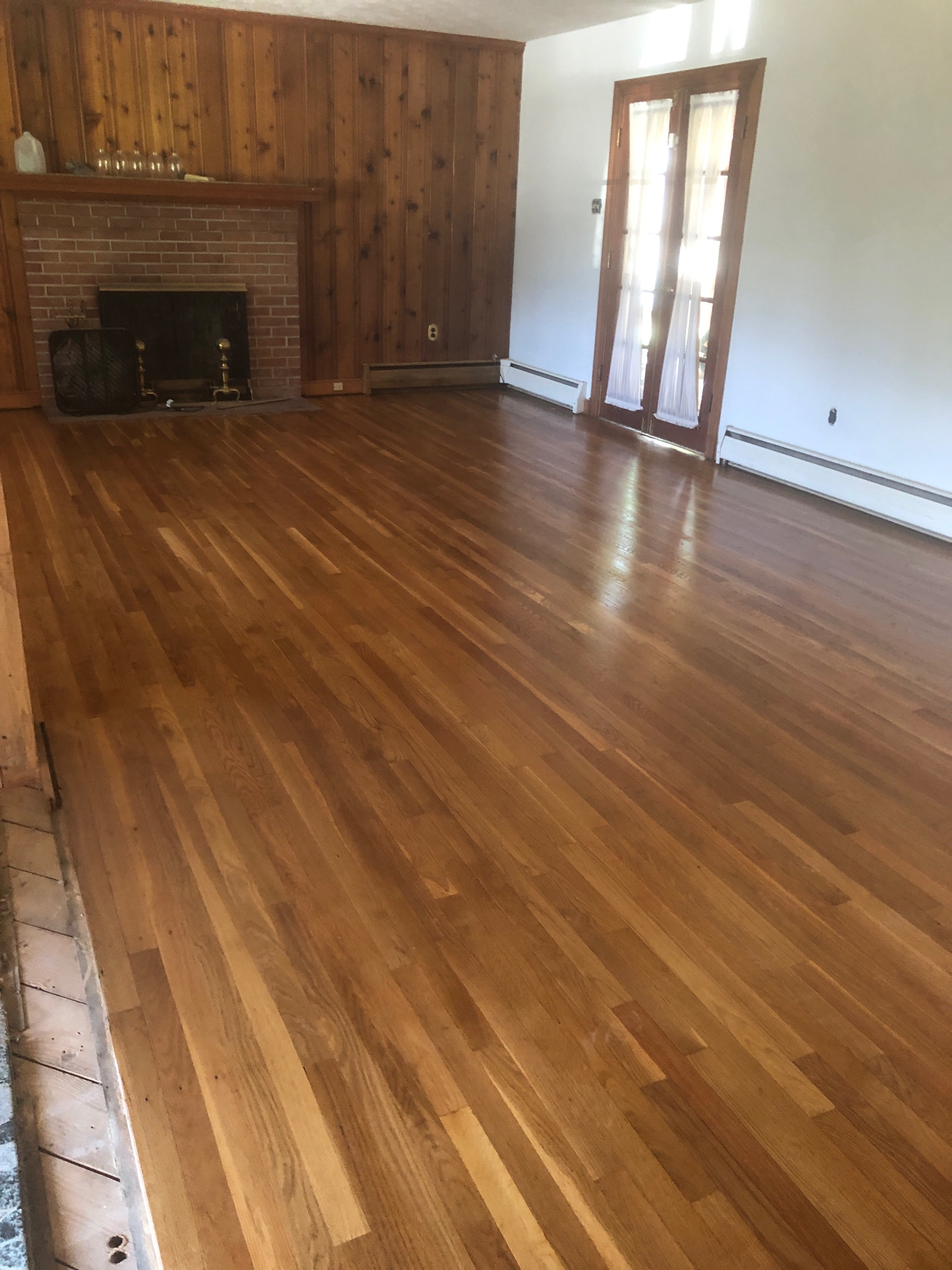 (Finished floors looking great!)