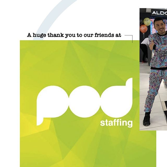 Huge shout-out to our friends and Campaign's staffing agency of the year @podstaffing Always going above and beyond 👍🏼