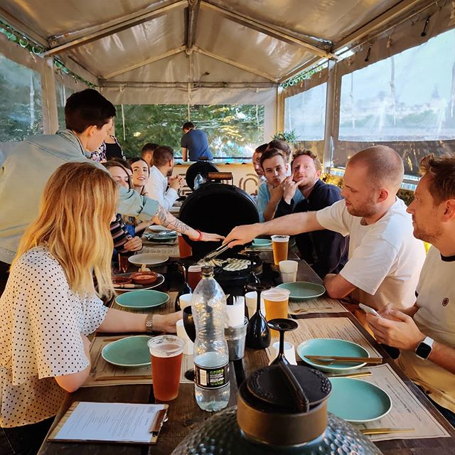 Sayhello Annual Summer BBQ @ The BBQ Club, Waterloo . . . . . #bbqclub #waterloo #london #bbq #agencylife #sayhelloagency #sayhello #summer