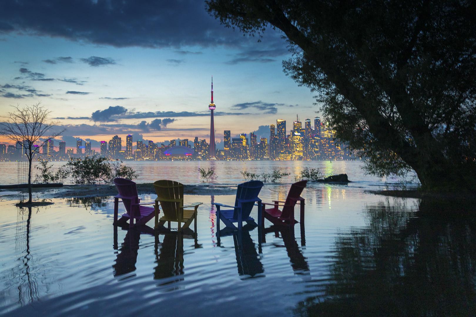 Toronto Skyline at Blue Hour
