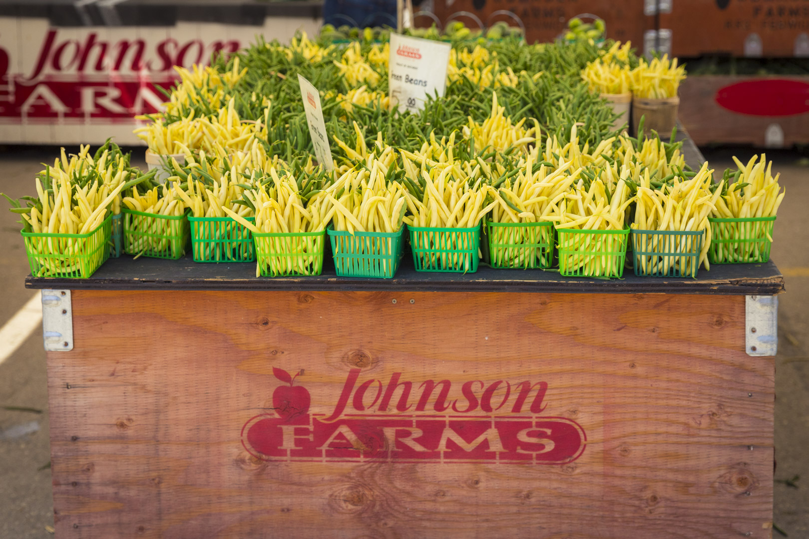 Green Beans & Yellow Beans from Johnson Farms