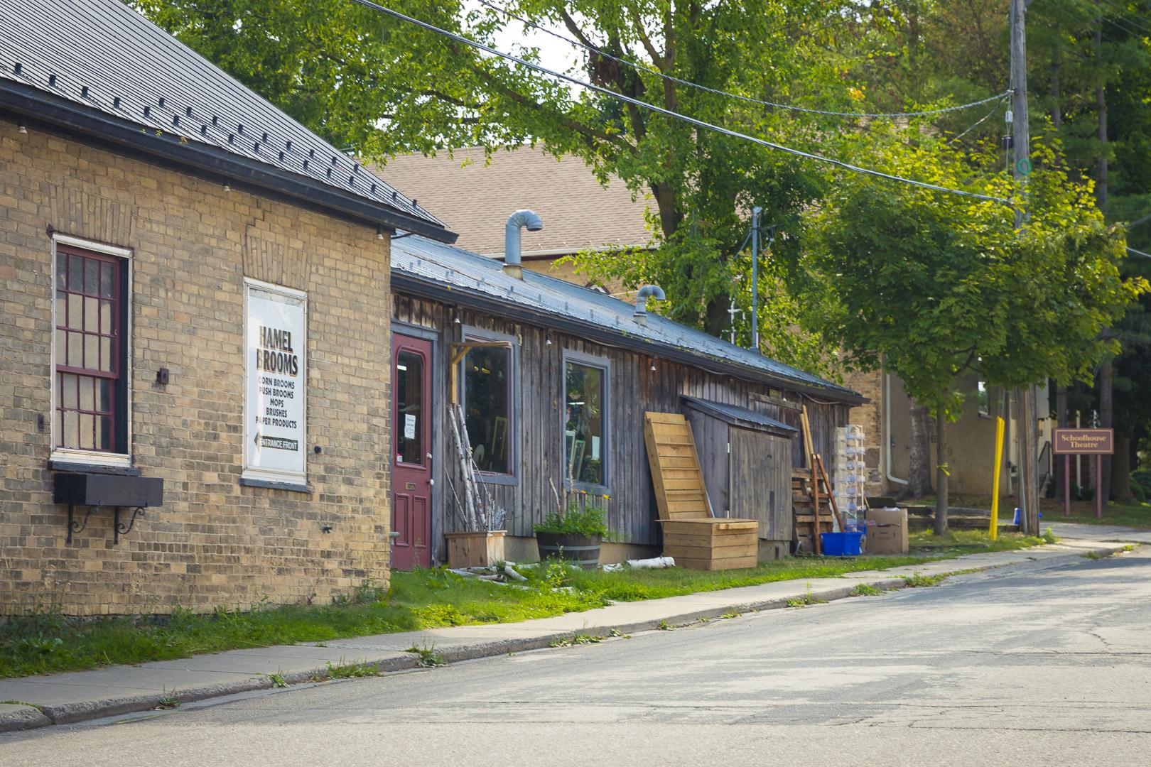 Hamel Brooms (Was:  Jon B. Martin Blacksmith Shop) and Robert a Brown Glass & Metal Studio