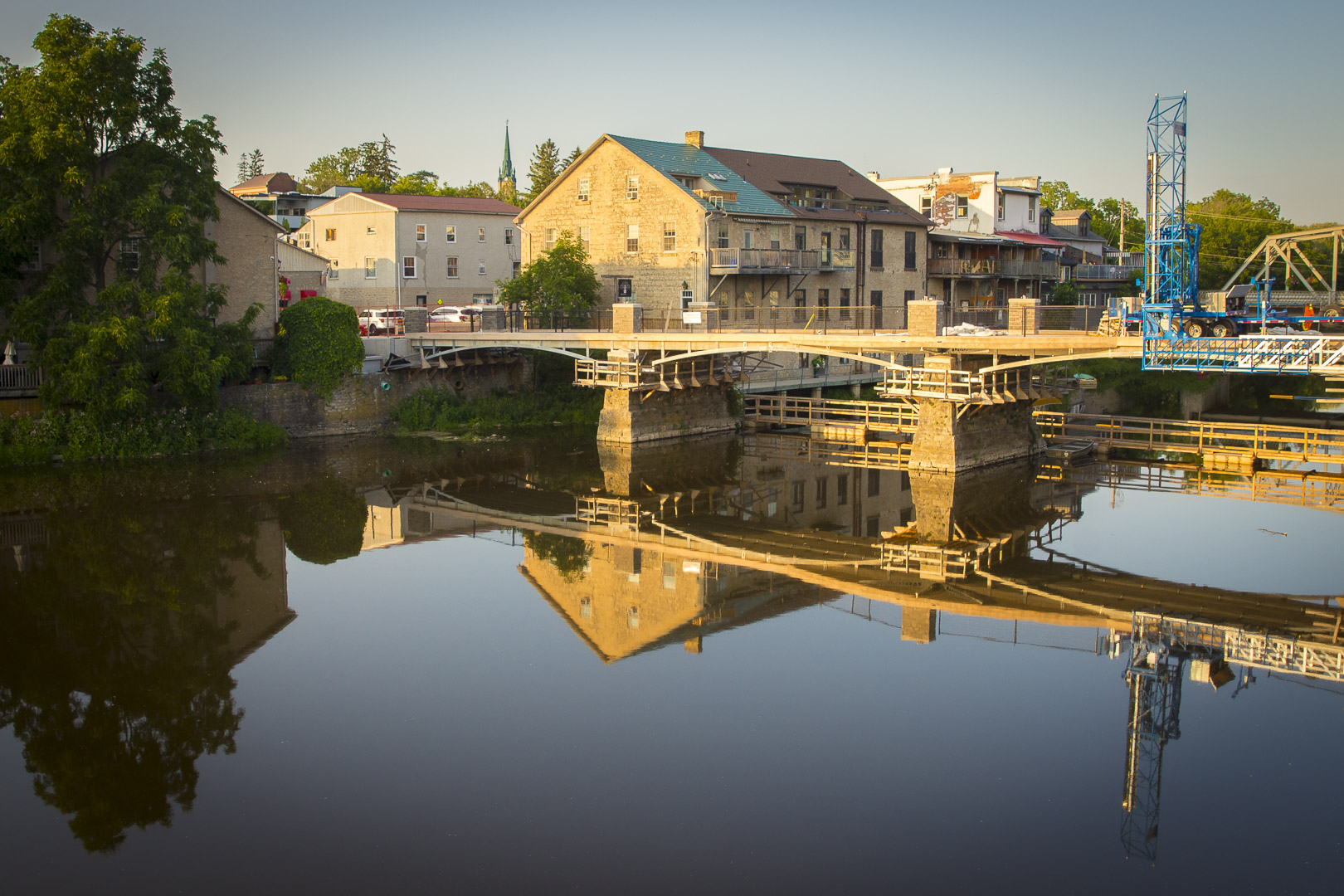 Bridge Over the Grand River