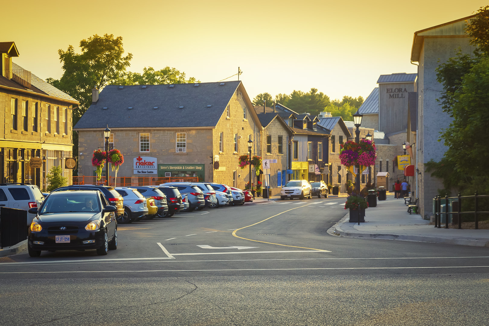Shops in Elora